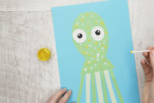 08 funny octopuses paper craft for your kids