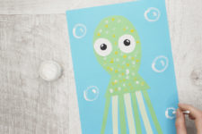 09 funny octopuses paper craft for your kids