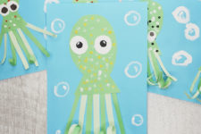11 funny octopuses paper craft for your kids