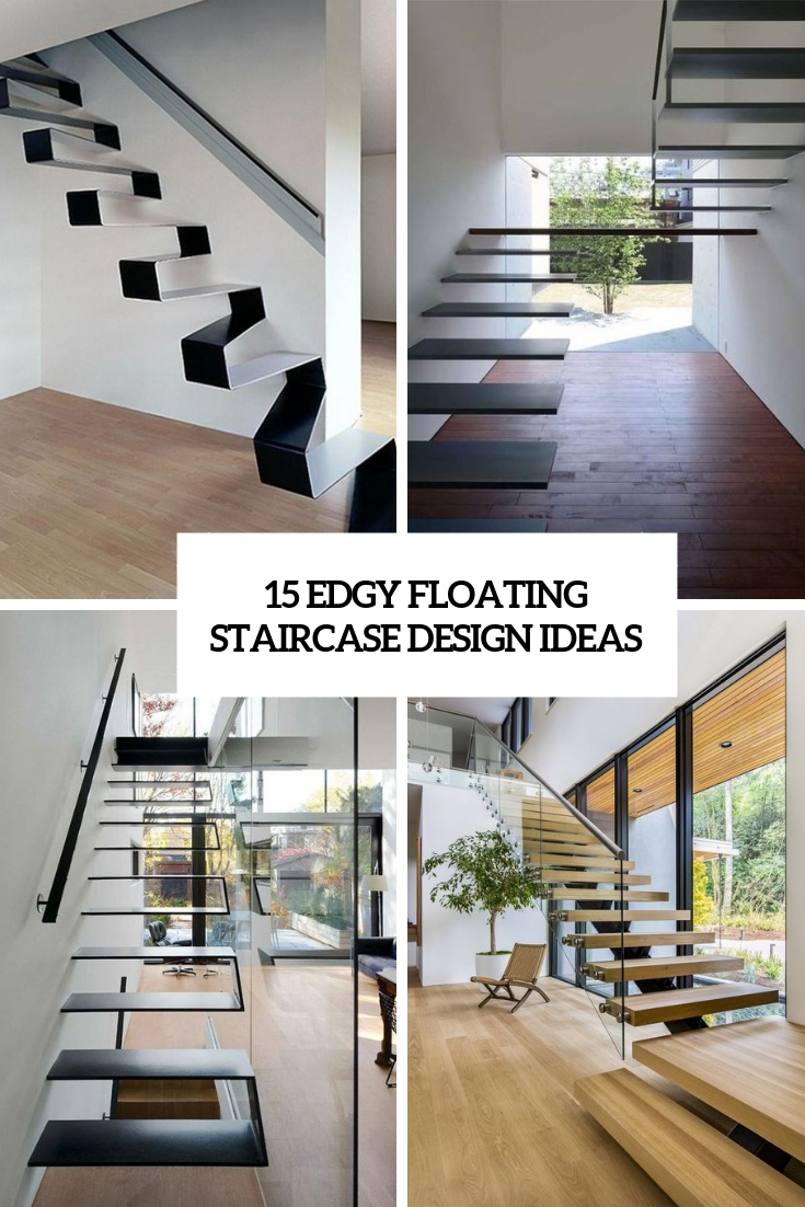 edgy floating staircase design ideas cover