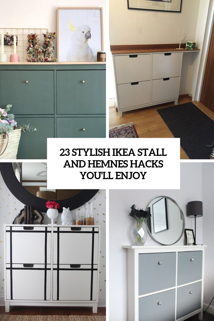 23 Stylish IKEA Stall And Hemnes Hacks You'll Enjoy