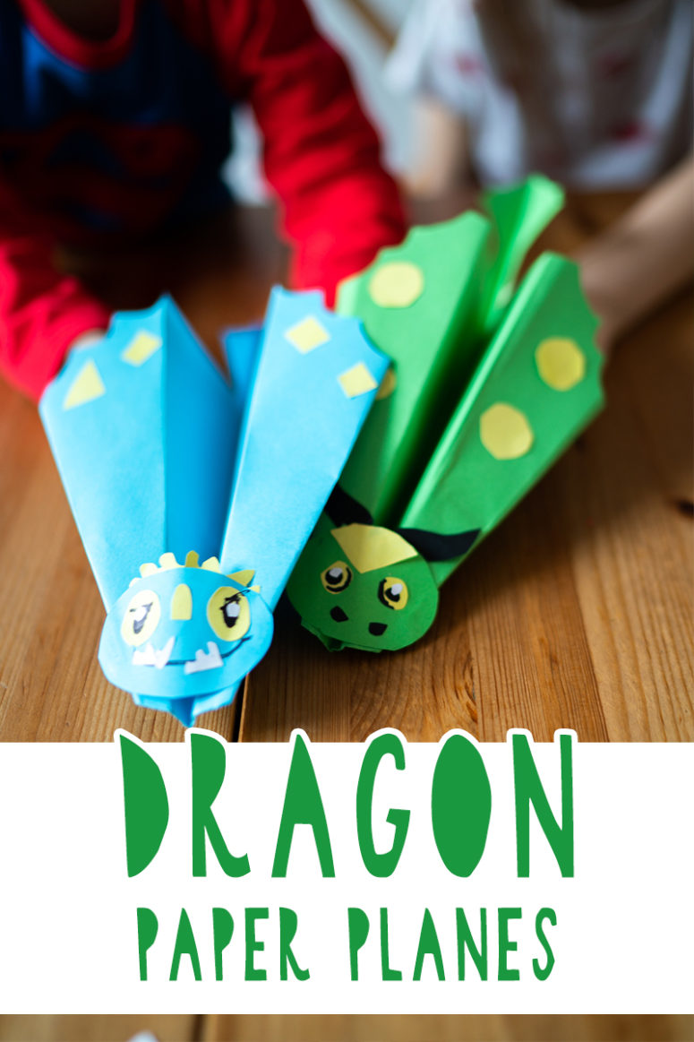 DIY 'How To Train Your Dragon' Paper Planes