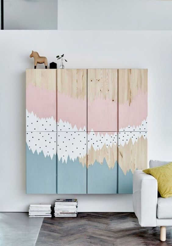 a cute ikea hack for a nursery room