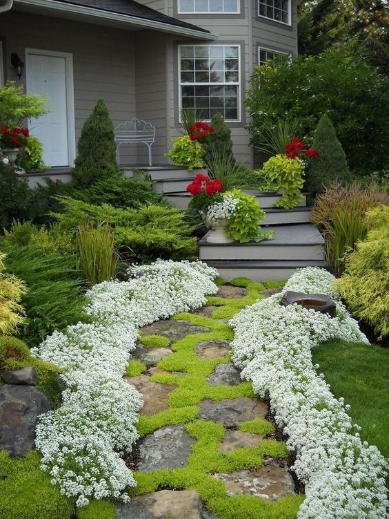 25 low maintenance front yard landscaping ideas