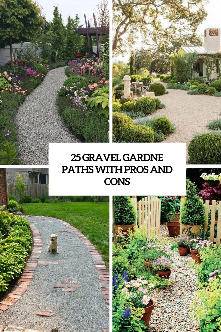 gravel garden paths with pros and cons cover