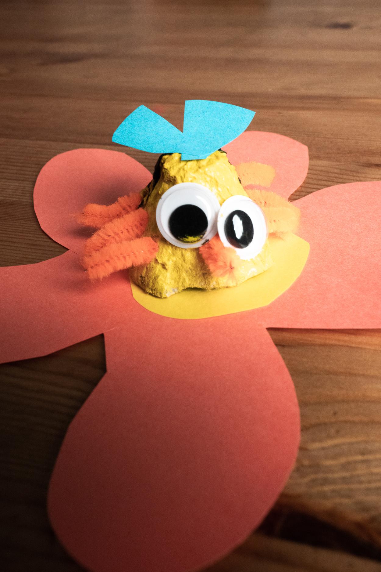 5 cool diy egg carton bugs