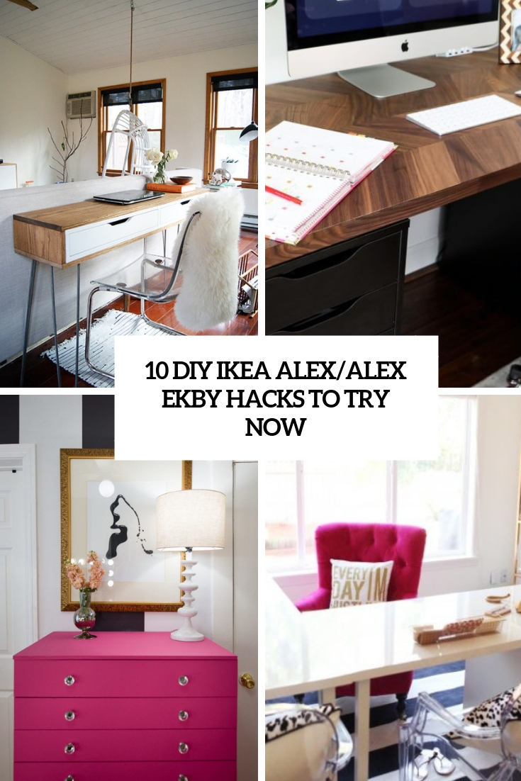 10 DIY IKEA Alex/Alex Ekby Hacks To Try Now
