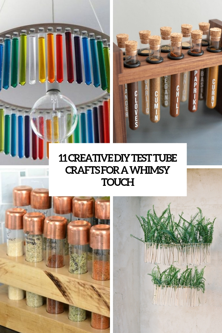 11 Creative DIY Test Tube Crafts For A Whimsy Touch