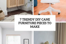 7 trendy diy cane furniture pieces to make cover