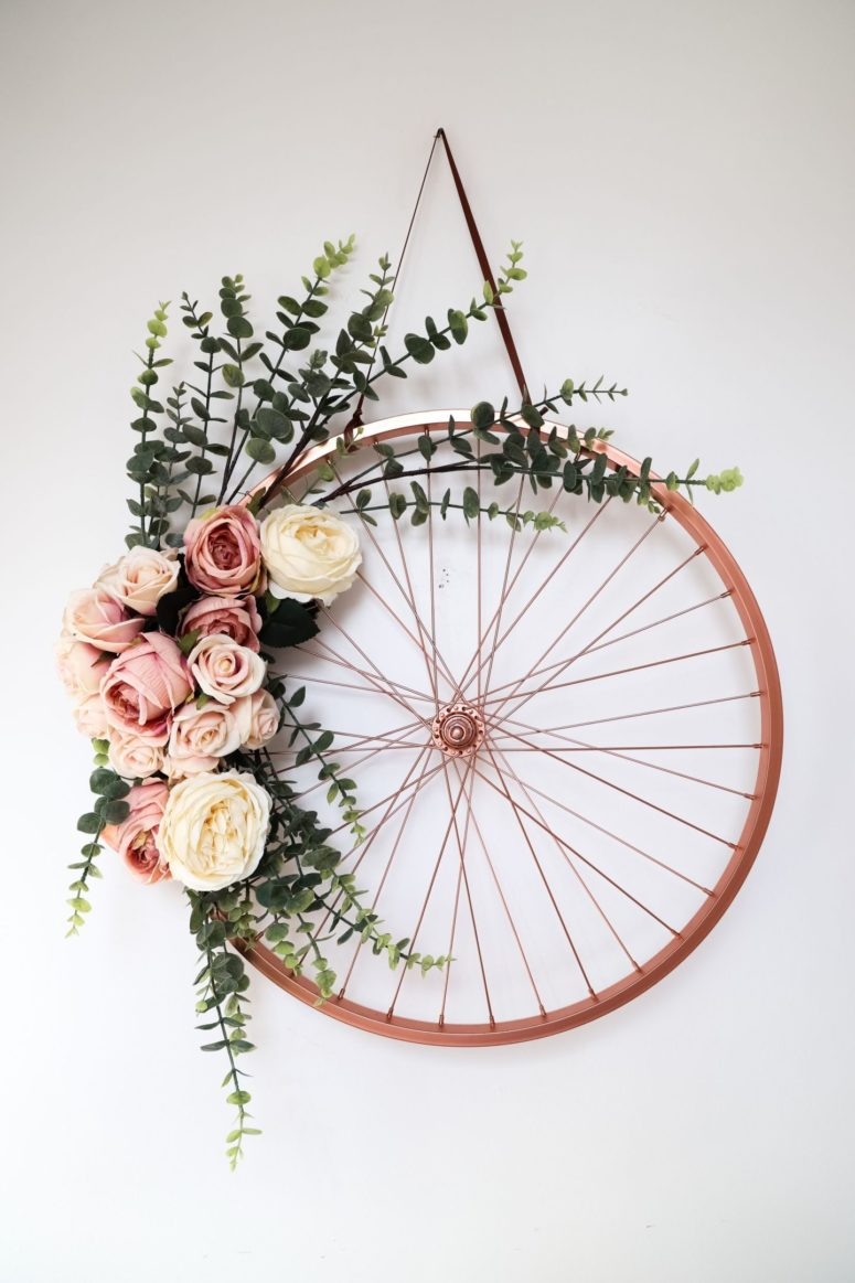 12 Bold And Cool Diys Using Old Bike Wheels Shelterness