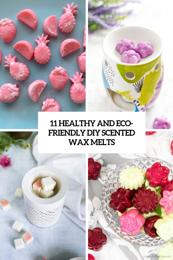 healthy and eco friendly diy scented wax melts cover