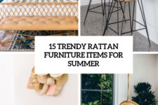 15 trendy rattan furniture items for summer cover
