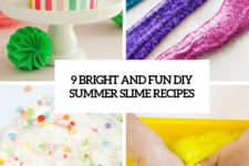 9 bright and fun diy summer slime recipes cover