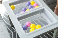 simple and fast to make DIY water table for toddlers