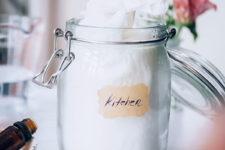 DIY cleaning wipes of usual kitchen towels