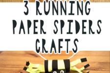 01 3 running paper spider crafts