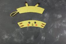 09 diy pikachu coaster and cup warmer