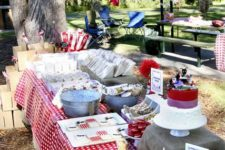 10 Picnic baby showers are awesome for those who prefer laid-back and rustic parties, add checked and gingham prints