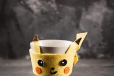 11 diy pikachu coaster and cup warmer
