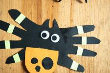 12 3 running paper spider crafts