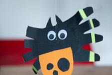 13 3 running paper spider crafts