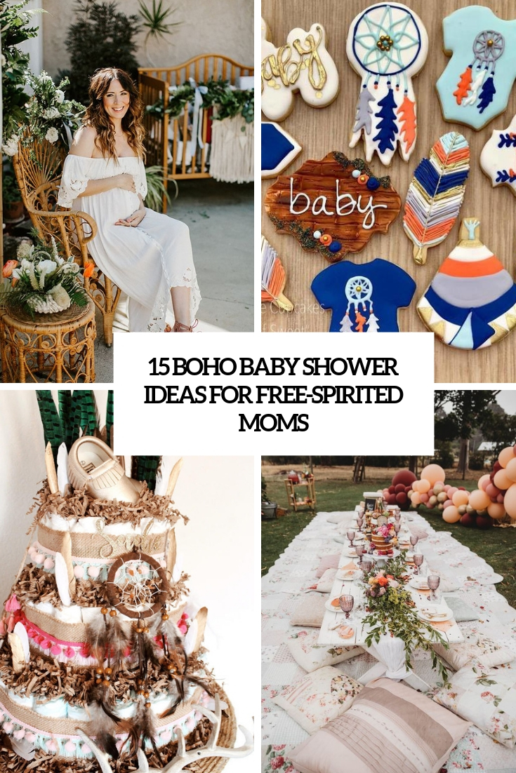 boho baby shower ideas for free spirited moms cover