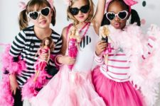 Barbie inspired birthday party in black, white and pink is a timeless idea for girls who love glam