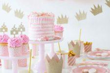 girl's birthday ballon decor