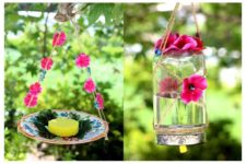 DIY butterfly feeder and waterer for attracting beautiful butterflies