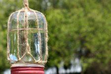 DIY mason jar butterfly feeder