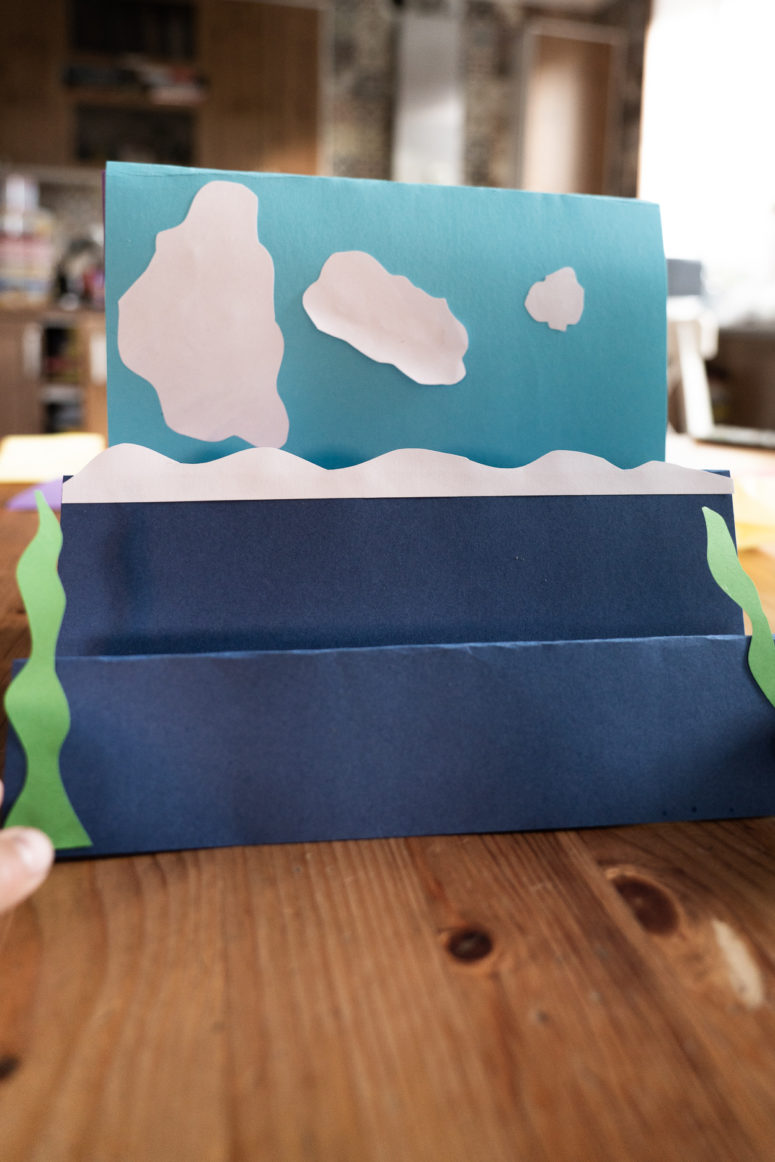 Ocean Inspired Origami Interactive Paper Crafts
