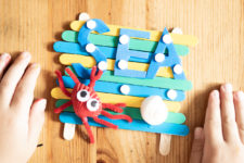 08 summer vacation memory craft for kids