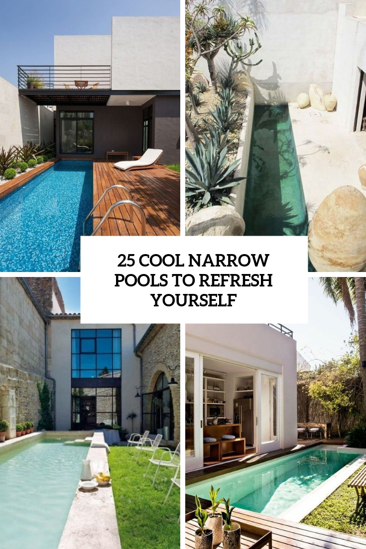 cool narrow pools to refresh yourself cover