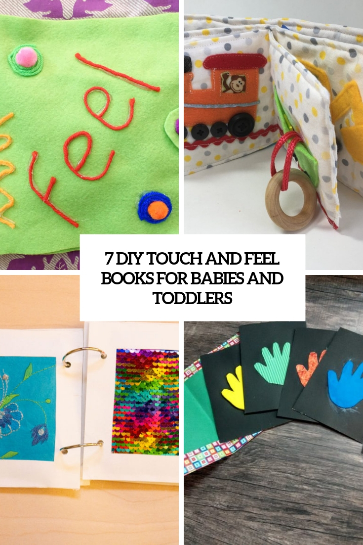 7 DIY Touch And Feel Books For Babies And Toddlers