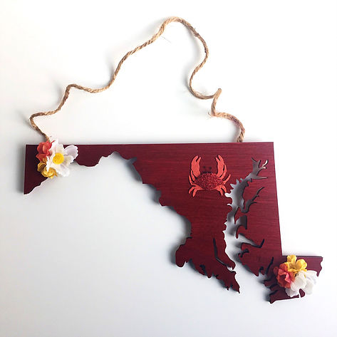 DIY home state wood plaque art (via www.theyummymuffin.com)