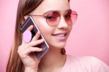 DIY minimalist and colorful phone pop socket