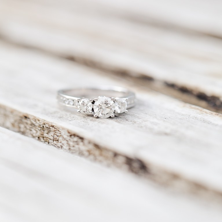 DIY jewelry cleaner for engagement rings with diamonds (via www.brides.com)