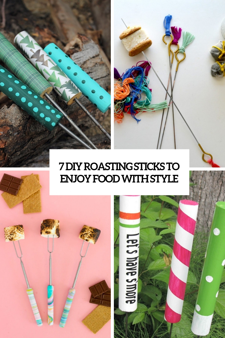7 DIY Roasting Sticks To Enjoy Food With Style