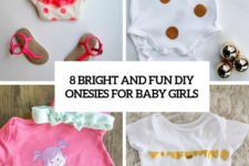 8 bright and fun diy onesies for baby girls cover