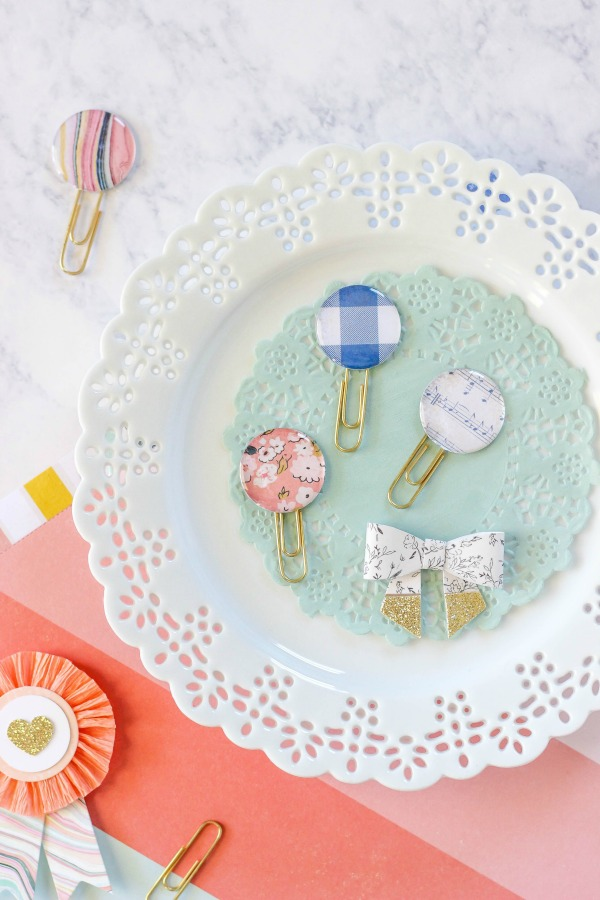 DIY cute epoxy paper clips (via www.purelykatie.com)