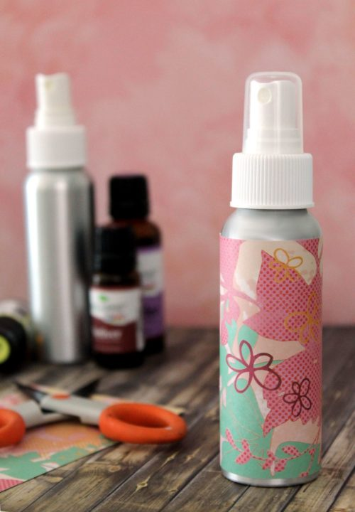 DIY essential oils sleep spray to make