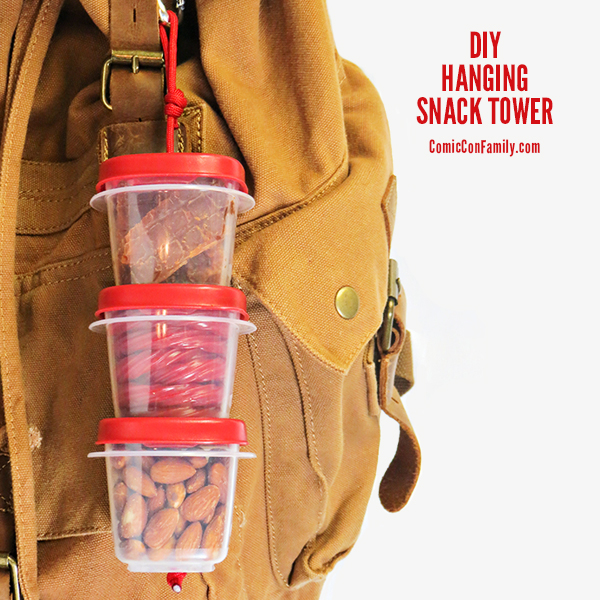 simple DIY hanging snack tower (via www.comicconfamily.com)