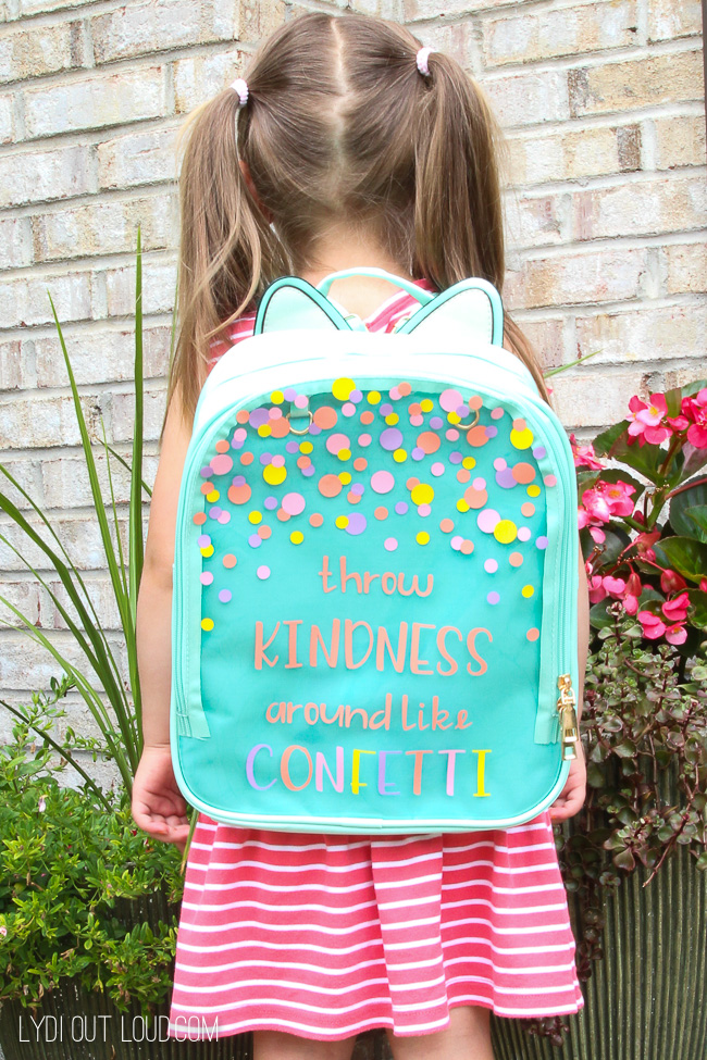 DIY customized vinyl backpack for kids (via lydioutloud.com)