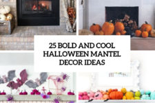 25 bold and cool halloween mantel decor ideas cover