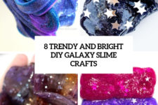8 trendy and bright diy galaxy slime crafts cover