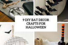 9 diy bat decor crafts for halloween cover