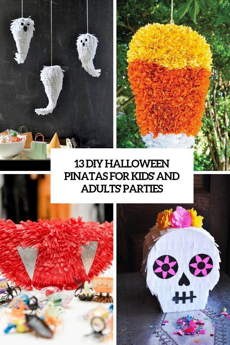 13 DIY Halloween Pinatas For Kids' And Adults' Parties
