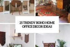 25 trendy boho home office decor ideas cover