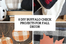8 diy buffalo check projects for fall decor cover