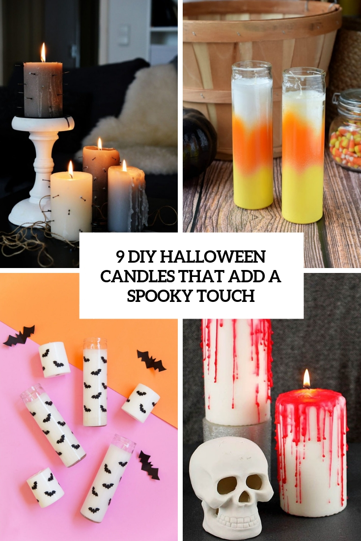 9 DIY Halloween Candles That Add A Spooky Touch